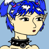 Blue haired elf